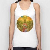 jesus Tank Tops featuring Jesus by Eugene Frost