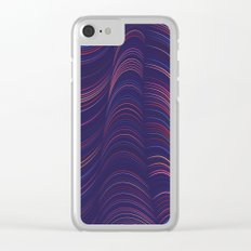 Flexible Lines 06 Clear iPhone Case