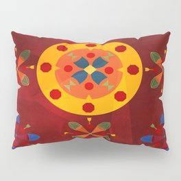 Oskar IV: Red Pillow Sham