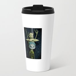 a portrait Travel Mug