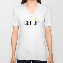 GET UP Unisex V-Neck