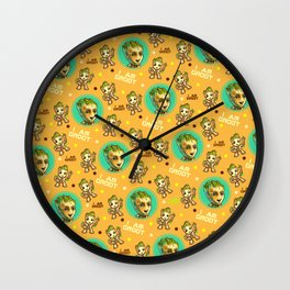 Guardians of the Galaxy Baby pattern Wall Clock