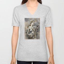 Pablo Picasso - Girl with a Mandolin Unisex V-Neck