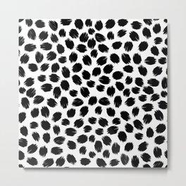 Scratch Confetti Metal Print