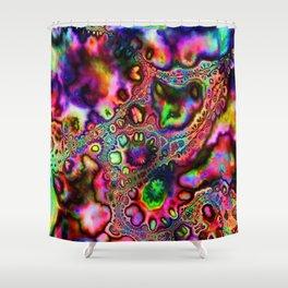 Insane Rainbow Shower Curtain