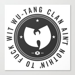 Wu-Tang Canvas Print