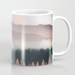 Forest Lake Evening Coffee Mug