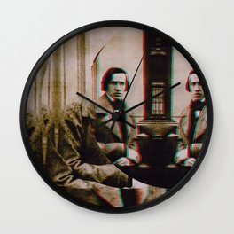 The Decomposed Composer Chopin -2 Wall Clock