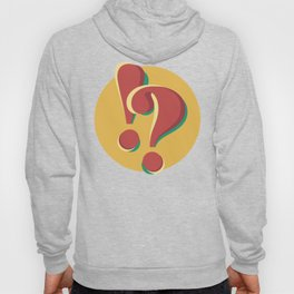 ! & ? (doubts and emotions) Hoody
