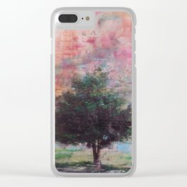 Beautiful tree on a Sailor Take Warning morning Clear iPhone Case