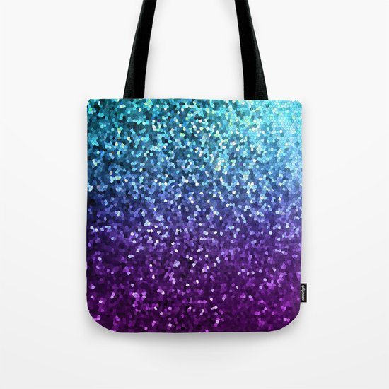 Mosaic Sparkley Texture G198 Tote Bag