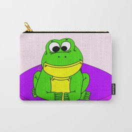 Wide-Eyed Toad Carry-All Pouch