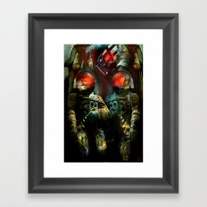 The guardians of the galaxy GN-z11 Framed Art Print