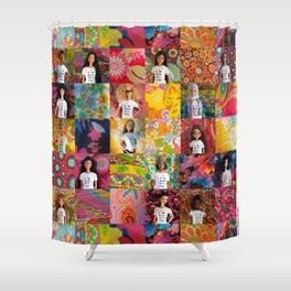 You Are Beautiful, Too! (Midge, Nzinga and Isabela) Shower Curtain