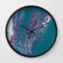 joyce | fluid acrylics Wall Clock