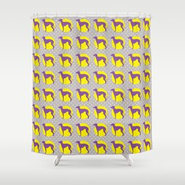 Italian Greyhound - Pattern One Shower Curtain