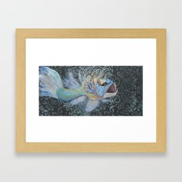 The Party Fish Framed Art Print