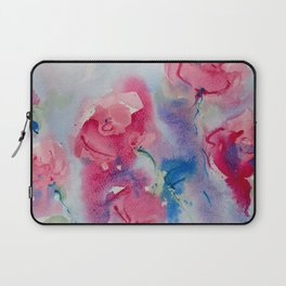 Roses in watercolor Laptop Sleeve