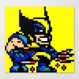 Wolvey Pixels Canvas Print