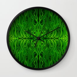 Toxic Squid by Chris Sparks Wall Clock