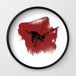 Charger! Wall Clock