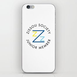 Zissou Society Junior Member iPhone Skin