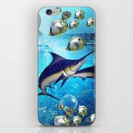 Underwater world iPhone Skin