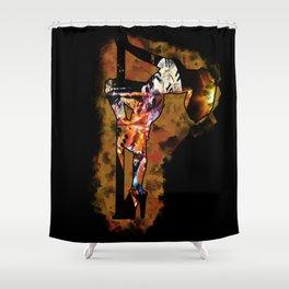 The Lap Dancer Shower Curtain