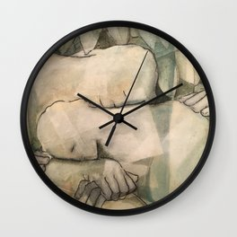 in serenity Wall Clock
