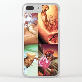 Street Fighter Favorites Clear iPhone Case