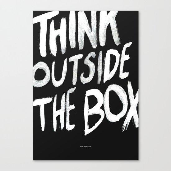 The Box Canvas Print