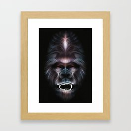 Gorille Framed Art Print