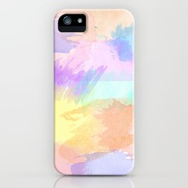 Watercolor Splash iPhone Case