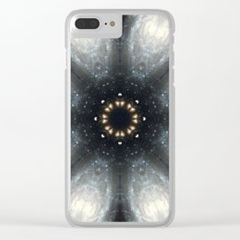 Space Mandala No26 Clear iPhone Case