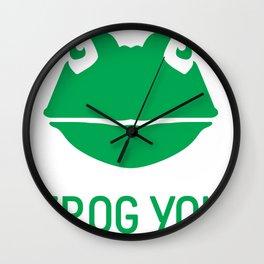 Frog You Wall Clock