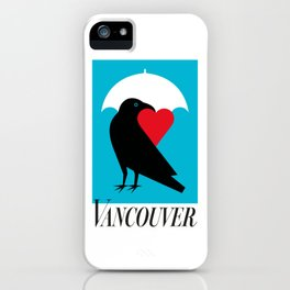 Vancouver's Canuck the Crow iPhone Case