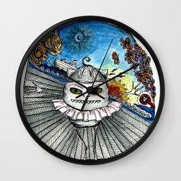 Noahs speedboat Wall Clock