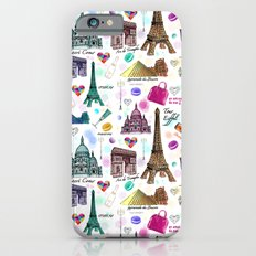 Voyage à Paris (Watercolor) Slim Case iPhone 6s
