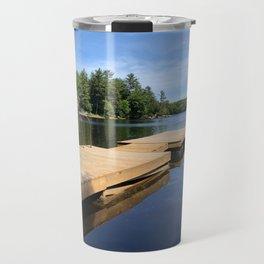 Dock on the Lake II Travel Mug