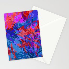exploding coral Stationery Cards
