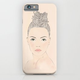 La guapa iPhone Case