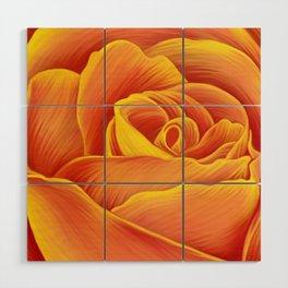 Rose Wood Wall Art