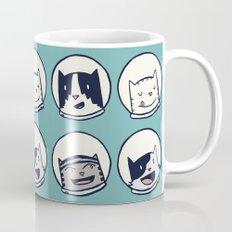 CatStronauts Team Heads Coffee Mug