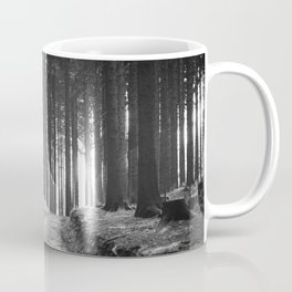 Forest (Black and White) Coffee Mug