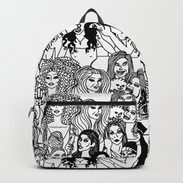 Real Housewives Pt.1 and 2 combined Backpack