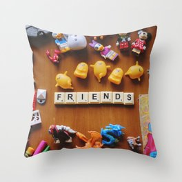 Friends Games Throw Pillow
