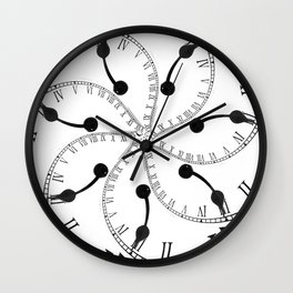 Clock Flower Wall Clock