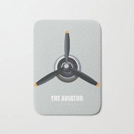The Aviator - Alternative Movie Poster Bath Mat