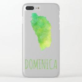 Dominica Clear iPhone Case