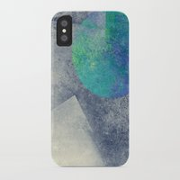 the moon iPhone & iPod Cases featuring moon by Claudia Drossert